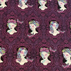 TULA PINK Fabric De La Luna Possessed Clairvoyant 60 Inches Over 1-1/2 Yards