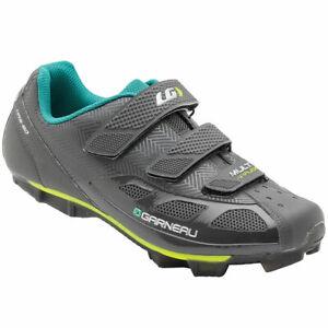 Louis Garneau Multi Air Flex Bike Cycling Shoes - Asphalt - 1487232-090 - Sz: 10