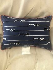 Vineyard Vines for Target Nautical Limited Edition Whale Lumbar Pillow NEW!