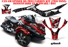 Amr racing decoración Graphic kit ATV can-am spyder RS, RSS, RT, RT-s, una Glock de f3/Guns B