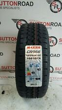 1x 185 60 12 MAXXIS CR966 185/60R12C 104/101N TRAILER TYRE ( FREE FITTING )