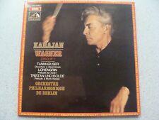 LP - Wagner, Karajan - Tannhäuser - Lohengrin - Tristan und Isolde - NEUF