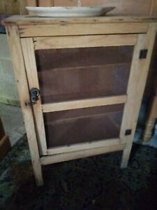 Pine Meat Safe Food Safe Kitchen Pantry Cupboard