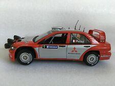 HOT WHEELS Racing Mitsubishi EVO 8 #9 1/18