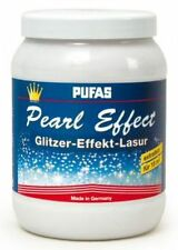 Pufas Pearl Effekt 1,5l Effekt-Lasur Kreativ-Lasur, Glitzer-Effekt