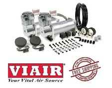 VIAIR 150PSI 3.28CFM 450C Dual Performance Value Pack 45012 Silver