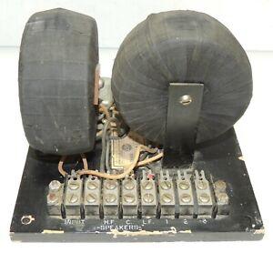 RCA MI-9597A Crossover Network For RCA MI-9462 Ubangi Loudspeaker System