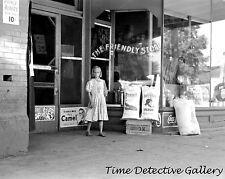 Grocery Store, Webers Falls, Oklahoma - 1939 - Historic Photo Print