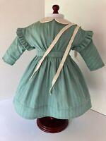American Girl Kirsten Work Dress Pleasant Company EUC