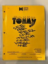 Data East Tommy Pinball Manual