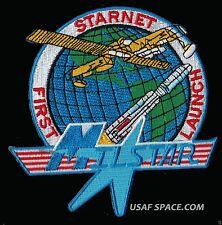 MILSTAR - FIRST LAUNCH - STARNET - TITAN IV 401A - TRW USAF SATELLITE PATCH