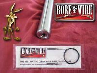 .17 HMR Rifle Bore Cleaning Tool - Bore Wire HD - NO BORE DAMAGE - Quality