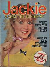 Jackie Magazine 30 June 1979 No. 808    Leif Garrett    The Jam    John Travolta
