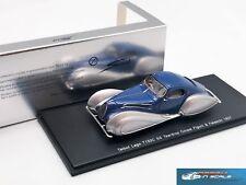 Talbot Lago T150C SS Teardrop Coupe Figoni & Falaschi 1937 S2705 resin 1:43