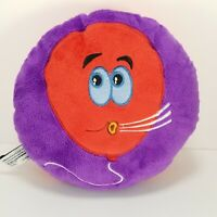Balloon Stuffed Animal Plush Pillow Purple Red Blowing Floating Soft Toy 8""