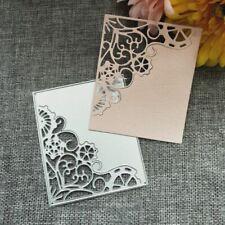 Corner Frame Metal Cutting Dies Stencil DIY Scrapbooking Album Paper Card Crafts