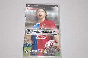 World Soccer Winning Eleven 2009 Japan Sony PSP game
