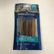 """Bully Sticks Odor-Free Treats, 6"""" 5 Chews best buy 01/2022"""