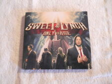 """Sweet & Lynch """"Only to Rise"""" 2015 cd Frontiers Rec. Digipack  NEW"""