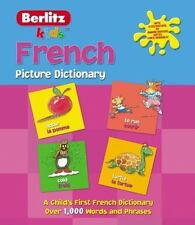 French Picture Dictionary Kids Picture Dictionary