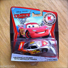 Disney PIXAR Cars 2 SILVER RACER SERIES LIGHTNING MCQUEEN METALLIC FINISH Kmart