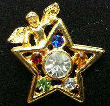 Order of Eastern Star Angel Lapel Pin