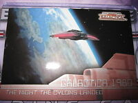 THE COMPLETE BATTLESTAR GALACTICA SAISON 1 CHASE CARD SUBSET GALACTICA 1980 G13