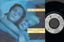 "DAVID STEWART Lily Was Here  SINGLE 7"" Lily Robs The Bank CANDY DULFER"