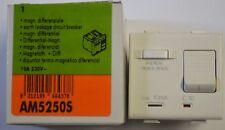 BTICINO Matix magnetotermico differenziale 10A 10mA AM5250S