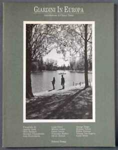 Luigi Ghirri. Giardini in Europa. Catalogo mostra Reggio Emilia 1988. Molto raro