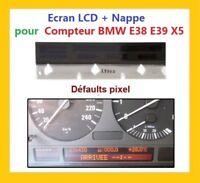 ECRAN LCD Complet pour compteur odb BMW E38 E39 X5 + Nappe
