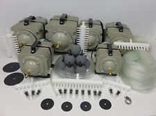 Hailea ACO - 328, 388D, 009, 009E, 300A, 500 Sauerstoffpumpe Teichbelüfter Set