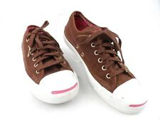 Jack Purcell Brown Suede Chuck Taylor Converse Sneakers Shoes Womens 8 Mens 6.5