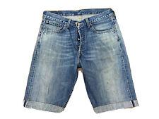 Original Levi's 508 Regular Fit Blue Stonewashed Denim Shorts W32 L12 ES 7074