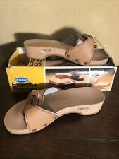 New listing Vintage 1970s Dr. Scholl's Exercise Sandals Nwt Never Worn in Box Wheat Size 6