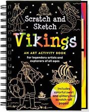 Scratch & Sketch Vikings: An Art Activity Book for Legendary Artists and Explore