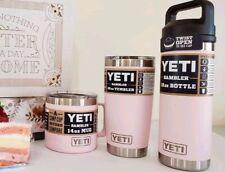 Brand New Yeti Rambler 14-18-20 oz ~ New Color: Ice Pink