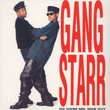 Gang Starr - No More Mr. Nice Guy (Vinyl LP - 1989 - US - Reissue)