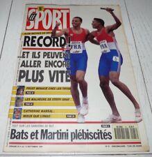 LE SPORT 47 1990 FOOTBALL ETTORI MARTINI GOALS 4 X 100 F1 PROST MOTO RAINEY