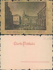BOLOGNA ANTICA - PIAZZA MAGGIORE -TETTOIA CORPO GUARDIA AUSTRIACA (rif.fg.11683)