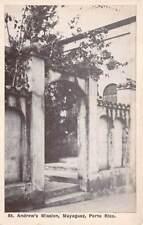 MAYAGUEZ, PUERTO RICO ~ ST ANDREW'S MISSION, KELSEY PRESS PUB ~ c 1930-40's