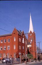 historic structures-Churches-St.Philip & James Cath @ Phillipsburg NJ.Fuji slide