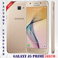 "Samsung Galaxy J5 Prime SM-G570F Unlocked Phone 16GB 13MP 5.0"" Android LTE Gold"