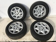 Mercedes C Class Alloy Wheels Set 195 65 R15 W203 2002 Alloys Wheel Set c180