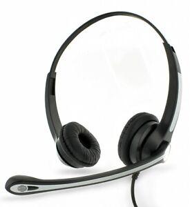 Headset Avaya 9601, 9608, 9608G, 9610, 9611 & 9611G Phone Double Ear