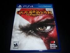 Replacement Case (NO GAME) GOD OF WAR III 3 Remastered PlayStation 4 PS4 Box