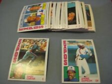 1984 Topps Montreal Expos Team Set with Traded 36 Cards