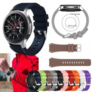 Replacement soft Silicone Band Strap Bracelet For Samsung Galaxy Watch S4 42 46