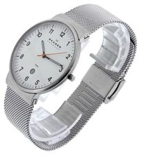 SKAGEN MEN'S ULTRA SLIM MESH BAND SILVER WATCH SKW6025