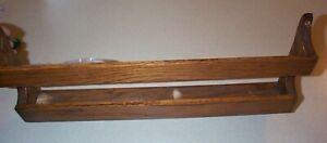 Vintage Old Oak Bible / Hymnal Rack - Original Finish (NICE)